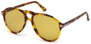 TOM FORD FT0645 sunglasses in Coloured Havana / Brown