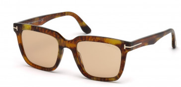 TOM FORD FT0646 sunglasses in Coloured Havana / Brown