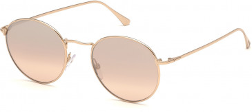 TOM FORD FT0649-50 sunglasses in Gold/Other / Gradient Or Mirror Violet