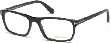TOM FORD FT5295-56 glasses in Matte Black