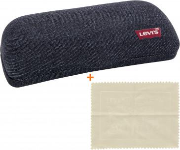 Levi's Glasses Case and Cloth Bundle