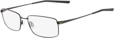 Nike 4196-58 glasses in Satin Black/Black