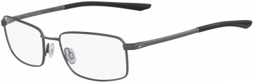 Nike 4283-58 glasses in Satin Gunmetal/Black