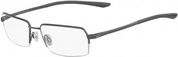 Nike 4284-56 glasses in Satin Gunmetal/Dark Grey