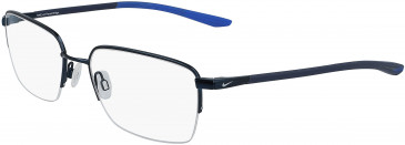 Nike 4300-56 glasses in Satin Navy/Racer Blue