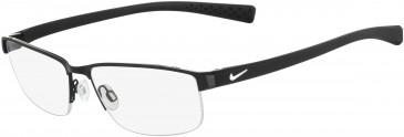 Nike 8098 glasses in Black-White