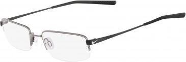 Nike 4192-51 glasses in Gunmetal/Satin Black