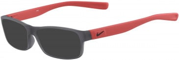 Nike 5090-50 sunglasses in Matte Anthracite/Red
