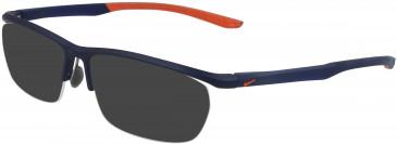 Nike 7928 sunglasses in Satin Metallic Midnight Navy
