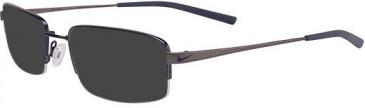 Nike 4192-53 sunglasses in New Blue/Charcoal
