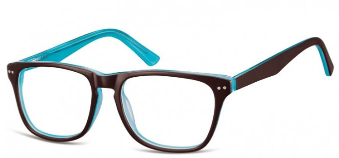 SFE-8259 in Brown/Turquoise