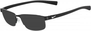 Nike 8098 sunglasses in Black-White