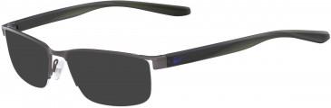 Nike 8172 sunglasses in Satin Gunmetal