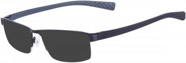 Nike 8097 sunglasses in Satin Blue-Midnight Navy