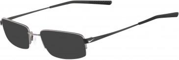 Nike 4192-51 sunglasses in Gunmetal/Satin Black
