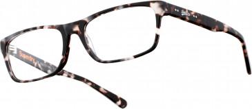 Superdry SDO-BLAINE Glasses in Matte Black/Tortoiseshell Amber Crystal