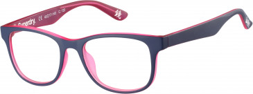Superdry SDO-BAUNSU glasses in Matte Lilac/Pink