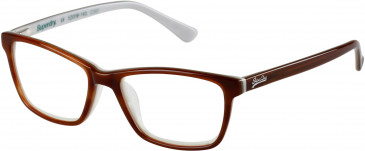 Superdry SDO-JAIME glasses in Brown Horn/Bone