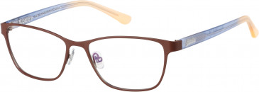 Superdry SDO-KENDAL glasses in Matte Painted Brown/Gloss Navy/Orange Fade