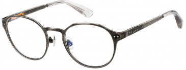 Superdry SDO-MARTY glasses in Matte Antique Silver/Gloss Crystal