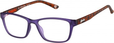 Superdry SDO-YUMI glasses in Matte Purple/Tortoise