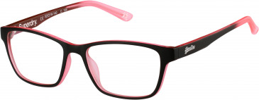 Superdry SDO-YUMI glasses in Matte Black/Pink Fade