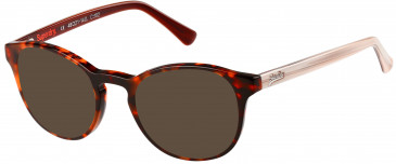 Superdry SDO-CHIE sunglasses in Gloss Tortoise/Bone/Horn