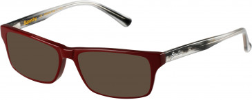 Superdry SDO-MURRAY sunglasses in Gloss Black/Crystal