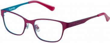Superdry SDO-TAYLOR glasses in Matte Red/Teal