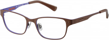Superdry SDO-TAYLOR glasses in Matte Black/Raspberry Red