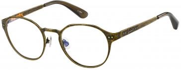 Superdry SDO-MARTY glasses in Matte Antique Khaki/Gloss Khaki Crystal