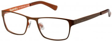 Superdry SDO-CEDAR glasses in Matte Dark Blue/Red