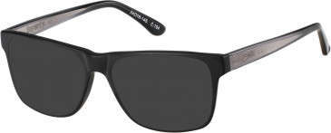 Superdry SDO-AVERY sunglasses in Matte Blue Tortoise/Gloss Crystal-Blue Fade