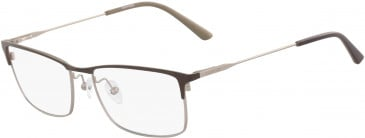 Calvin Klein CK18122 glasses in Satin Brown