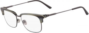 Calvin Klein CK18124 glasses in Charcoal Horn