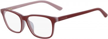 Calvin Klein CK18515-51 glasses in Red/Blush