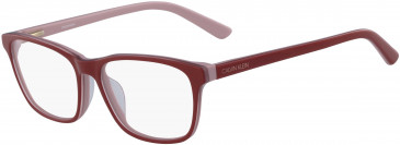 Calvin Klein CK18515-53 glasses in Red/Blush