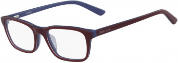 Calvin Klein CK18516-52 glasses in Oxblood/Blue