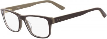 Calvin Klein CK18540 glasses in Dark Brown/Beige