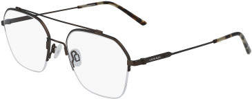 Calvin Klein CK19143F glasses in Satin Brown