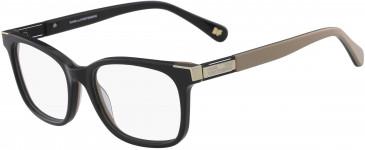 DVF DVF5105 glasses in Black/Brown Laminate