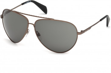 Diesel DL0095 sunglasses in Bronze