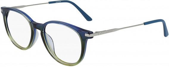 Calvin Klein CK19712 glasses in Crystal Blue/Green Gradient