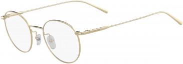 Calvin Klein CK5460 glasses in Gold