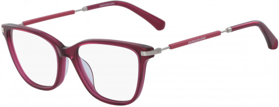 Calvin Klein Jeans CKJ18703 glasses in Crystal Deep Berry