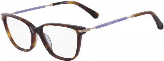 Calvin Klein Jeans CKJ18703 glasses in Soft Tortoise