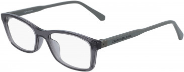 Calvin Klein Jeans CKJ19523 glasses in Crystal Charcoal