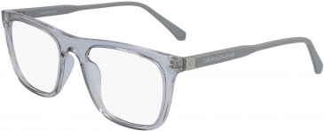 Calvin Klein Jeans CKJ19524 glasses in Crystal Dark Brown