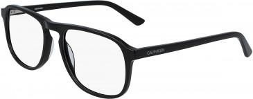 Calvin Klein CK19528 glasses in Crystal Navy/Light Blue