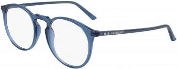 Calvin Klein CK19517 glasses in Crystal Dark Brown